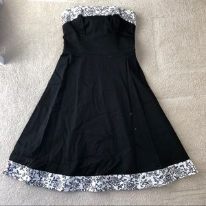 Strapless Dress White House Black Market